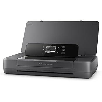 HP Officejet 200 Mobile - Impresora de tinta (PCL 3, 4800 x 1200 DPI, 50/60 Hz, A4, Papel satinado, Papel fotográfico, Papel normal, Papel reciclado, USB 2.0, LAN inalámbrica)