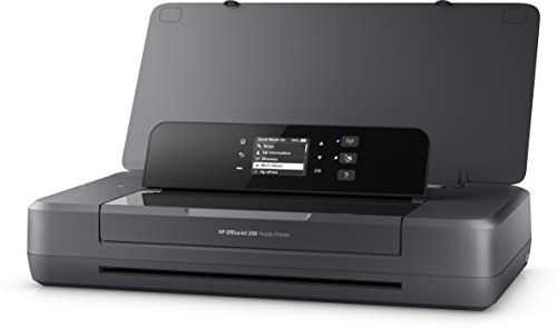 HP OfficeJet 200 Mobiler Tintenstrahldrucker (A4, Drucker, WLAN, HP ePrint, Airprint, USB, 4800 x 1200 dpi) schwarz - In One All Drucker Portable