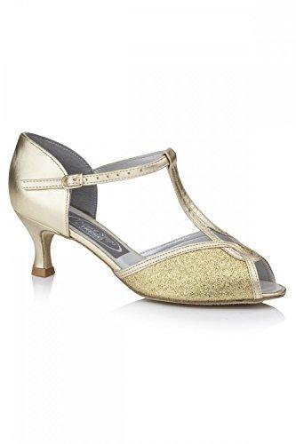 Chaussures de danse Citrine Doré