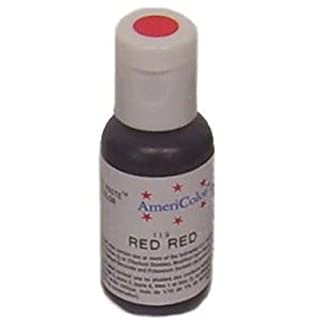 Americolor Soft Gel Paste Food Color, .75-Ounce, Red by AmeriColor