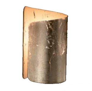 Wandleuchte 1Licht Kristall Selene Papiro 371006Blattgold - 1-licht-kristall-wandleuchte