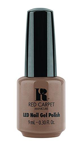 Gel Carpet-led Licht Red (Red Carpet Manicure Gel Polish, RE–Nude)