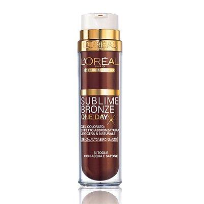 Loreal Sublime Bronze One Day Gel Colorato Effetto Abbronzatura 50 ml
