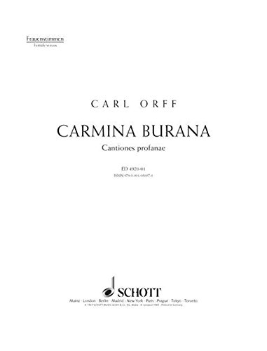 Carmina Burana (Red Fassg) - Fst par Orff C