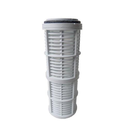 Agora-Tec® AT-Wasserfilter 2L, mit Max. Betriebsdruck: 4 bar, Max. Durchflussmenge: 3000 l/h, Maschenweiter Filtersieb: 0,2 mm, Anschlüsse: 1 Zoll (30,3 mm) IG Messingbuchsen - 2