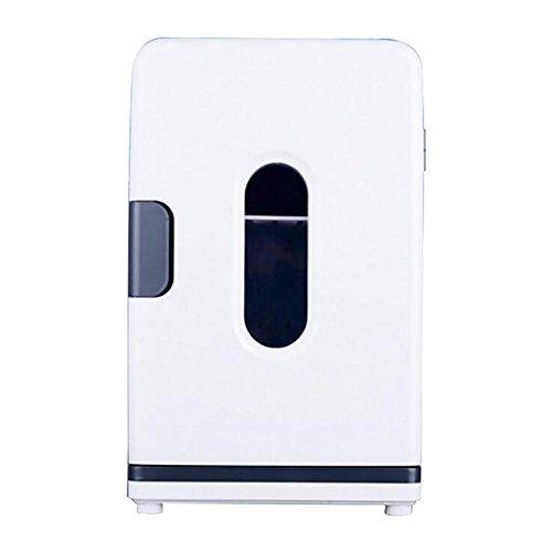 HuanLeBao Tragbare Kompressor-Kühlbox für Normal- und Tief-Kühlung, Gefrierbox, 18 Liter Anschlüsse für Auto und Truck - Mini-Kühlschrank, Gefrier-Schrank , Weiß