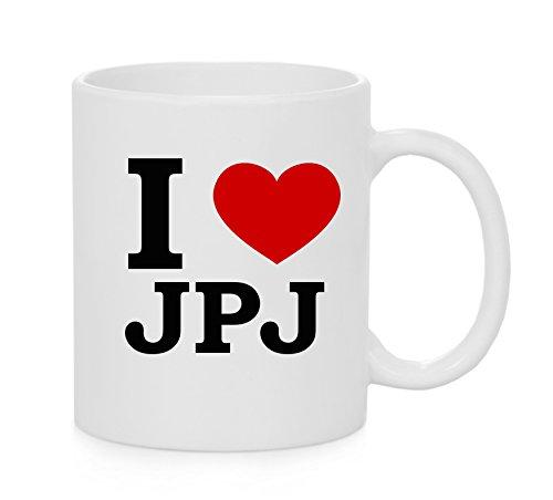 I taza del corazón JPJ (amor)