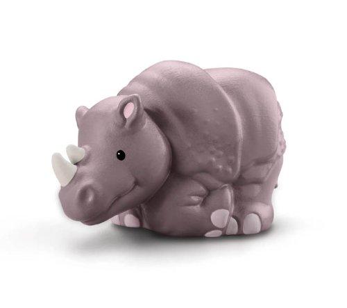 Fisher Price–w2588–Figur–Spielzeug D 'eveil PREMIER AGE–Tiere des Zoo Little People–Rhinoceros (Gattung)