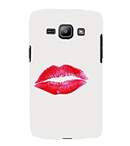FUSON Sweet Glossy Lips Kiss 3D Hard Polycarbonate Designer Back Case Cover for Samsung Galaxy Win I8550 :: Samsung Galaxy Grand Quattro :: Samsung Galaxy Win Duos I8552