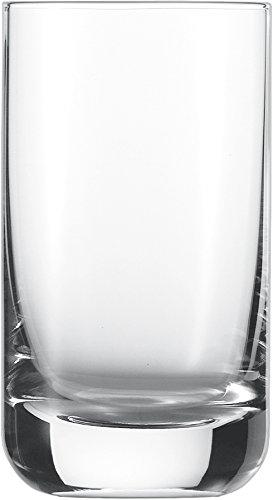 Schott Zwiesel Convention 12 Wasserbecher, Glas, transparent, 21.9 x 15.4 x 12.5 cm, 6-Einheiten