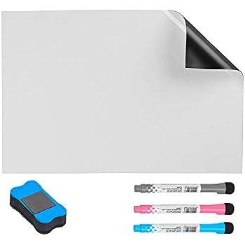 Tableaux mémo CUHIOY Tableau Blanc Magnétique 2Pcs 50x30cm ...