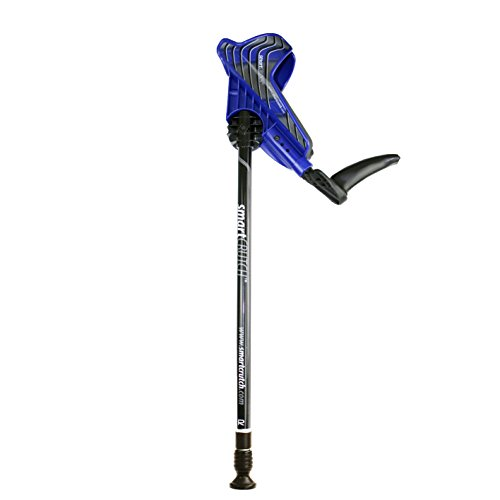 Smartcrutch Adult Paar Gehhilfe Krücken, blau