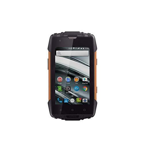 "Hammer Iron 2 Orange 4.0\"", IP68 Robustes Smartphone, Quad-Core, 2400mAh, Free Dual-SIM 3G"