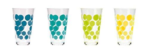 zak!designs-DOT DOT - Set de 4 verres 30 cl - ice cool