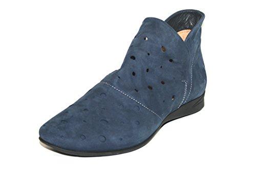 Think Wunda 86054scarpe Slipper da donna Stivaletti, blu (Blau (jeans/kombi)), 41 EU