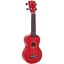 Mahalo MR1RD - Ukelele Soprano, color rojo
