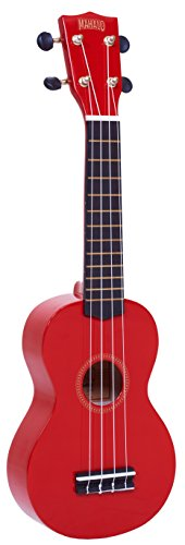 Mahalo-MR1RD-Ukelele-Soprano-color-rojo