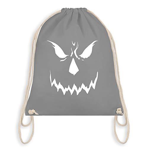 Halloween - Scary Smile Halloween Kostüm - Unisize - Hellgrau - WM110 - Turnbeutel & Gym Bag