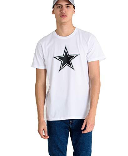 New Era NFL Fan Pack Tee Herren Dallas Cowboys Weiß, Größe:XL (Cowboys) Herren-t-shirts Dallas)