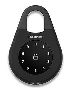 Igloohome| Smart KeyBox 2 | Boîte à Clé Sécurisée Intelligente | PIN et Bluetooth | Noir