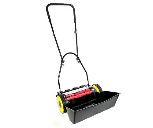WOLF-Garten WPCM-F Hand Push Cylinder Garden Lawn Mower with 5 Helix Carbon Steel Blades
