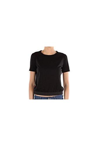 shirt Baumwolle Damen 135622nero T Schwarz Prada 6F4ExP