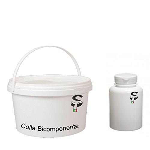 Colla Poliuretanica Bicomponente per Prato Sintetico parquet legno conf. 2,5 kg