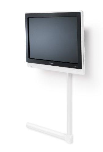 Meliconi cable cover 65 bianco copri cavi in alluminio for Coprifili tv