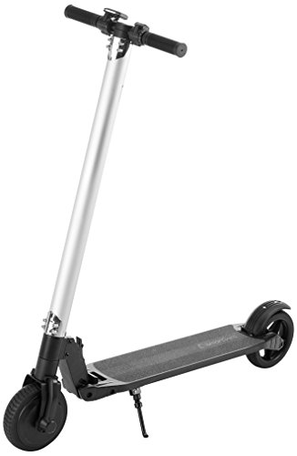 SMARTGYRO Viper Urban Patín Scooter eléctrico, Unisex Adulto, Negro, 6.5
