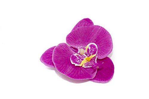 Zange mit Orchidee