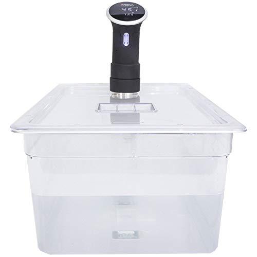 Sous Vide Behälter aus Polycarbonat, mit passgenauem Deckel, 20 l