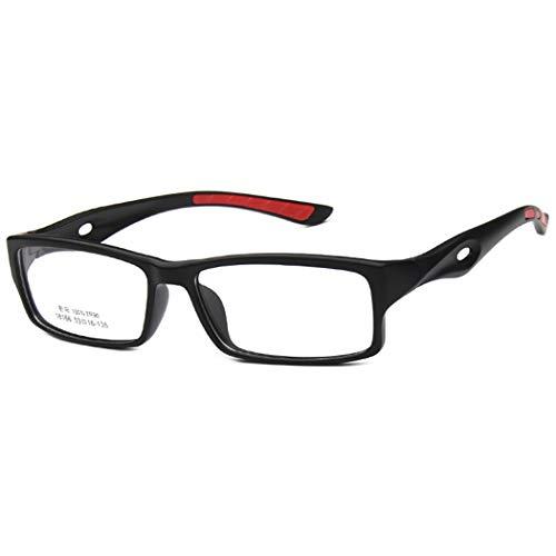Fansport Brillen TR90 Frame Lesebrille BrillengläSer FüR Damen Und Herren