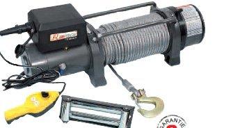 RIBITECH - Treuil électrique 12 V à fixer 4080 KGS env