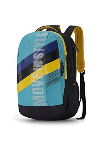 Skybags Herios 03 27 Ltrs Turquoise Laptop Backpack (HERIOS 03) Image 2