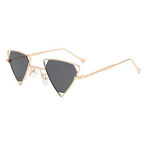 GY-HHHH Sonnenbrille kleine dreieckige hohle Sonnenbrille schwarzKlassisches Retro-Outdoor-Essential