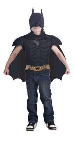 Batman - i-885.100, costume per bambino, per travestimento da batman, 5/7 anni