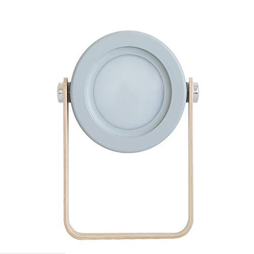 Chinmy Tischlampe, tragbare Nachtlicht-Berührungssensor-Nachttischlampe mit fürsorglichem, weichem, warmweißem Licht für Babyzimmer-Schlafzimmer im Freien Tischlampe mit einem Griff,Gray Gray Griff
