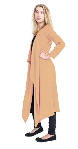 Comfiestyle - Gilet - Cardigan - Femme Camel