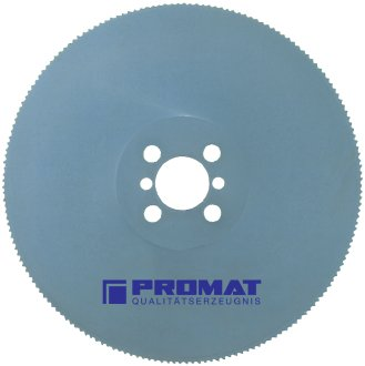 PROMAT 814236 Metallkreissägeblatt HSS-E 180Z. D.350/B.3mm PROMAT Bohrung 40mm