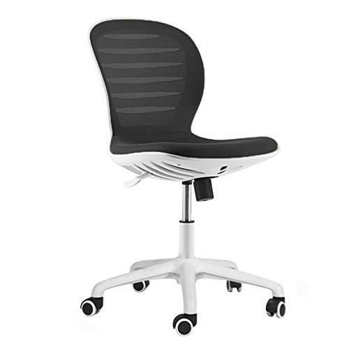 Bürostuhl / Drehstuhl / Arbeitsstuhl, modern und einfach, keine Armlehnen, kann angehoben und gesenkt werden, ergonomisches, atmungsaktives Mesh, starke Tragfähigkeit, geeignet für Büroangestellte -