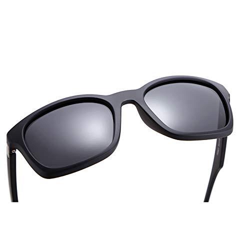 WBAHJReduzieren Sie Blendung Polarisierte Sonnenbrille Männer mit Sonnenbrille Hard Case Anzug Die meisten Gesichtsformen