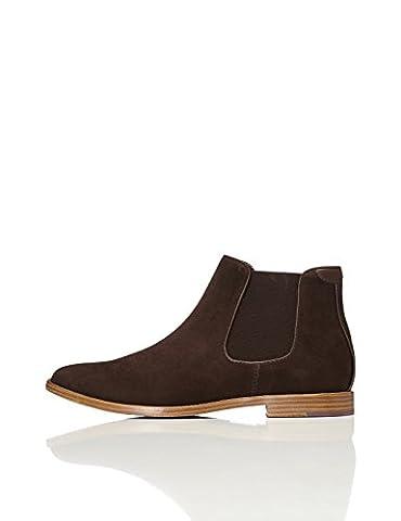 FIND Men's Chelsea Boots, Brown (Brown), 7 UK