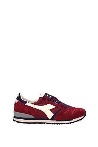201113050145071 Diadora Património Sneakers Homens Camurça Vermelha