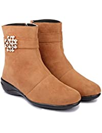 TEQTO Footwear Collection -Suede Long Boot for Women & Girl