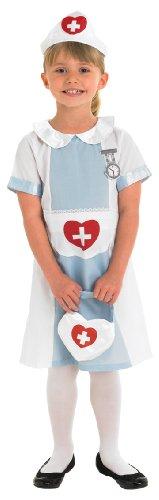 Kostüm Kinder Krankenschwester (Rubie's Offizielles Krankenschwester-Kostüm für Kinder–Größe: M)