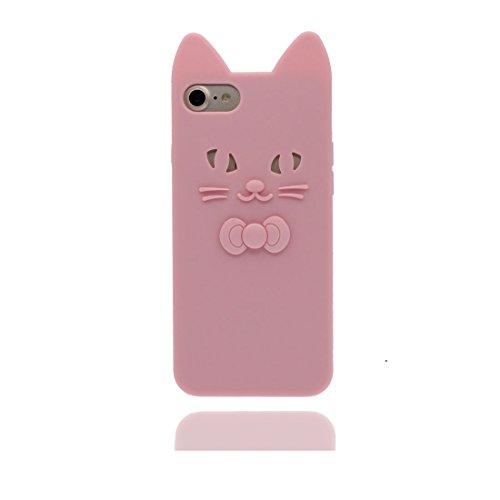 """Étui pour iPhone 7, TPU Matériau (Chat) Couverture arrière pour iPhone 7 (4.7 """"), résistant aux égratignures, antichoc, pleine protection Durable, iPhone 7 (4.7"""") case, iPhone 7 4.7"""" coque color 1"""