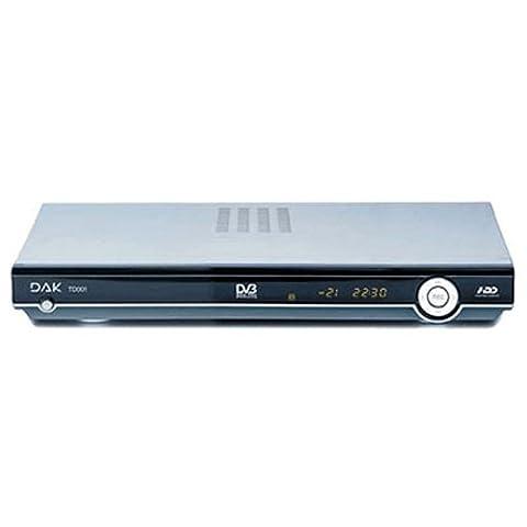Airis TD001A Décodeur TNT Double Tuner avec emplacement disque dur 80 Go