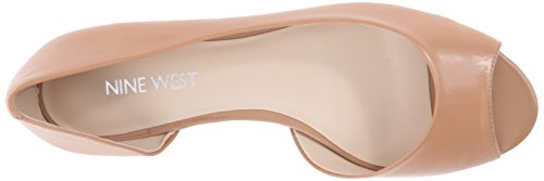 Nine West Bachloret Peep Zehe Kunstleder Wohnungen Natural