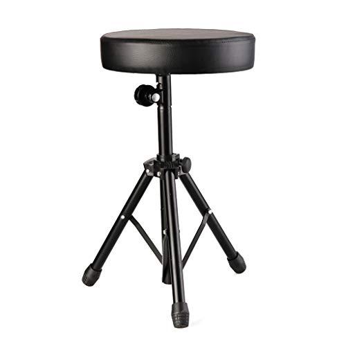 Flowing Water Weich Gepolsterte Sitzhocker Trommeln Verstellbare Stuhl Rotierende Stühle Stehen Trommler Für Zu Hause Schwarz