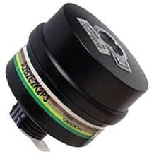 Filtro para máscara de Gases facial integral, Respirador Profesional Polivalente A2-B2-E2